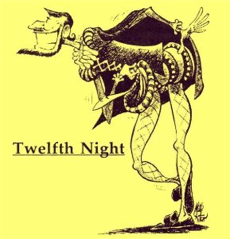 Twelfth night thesis statement